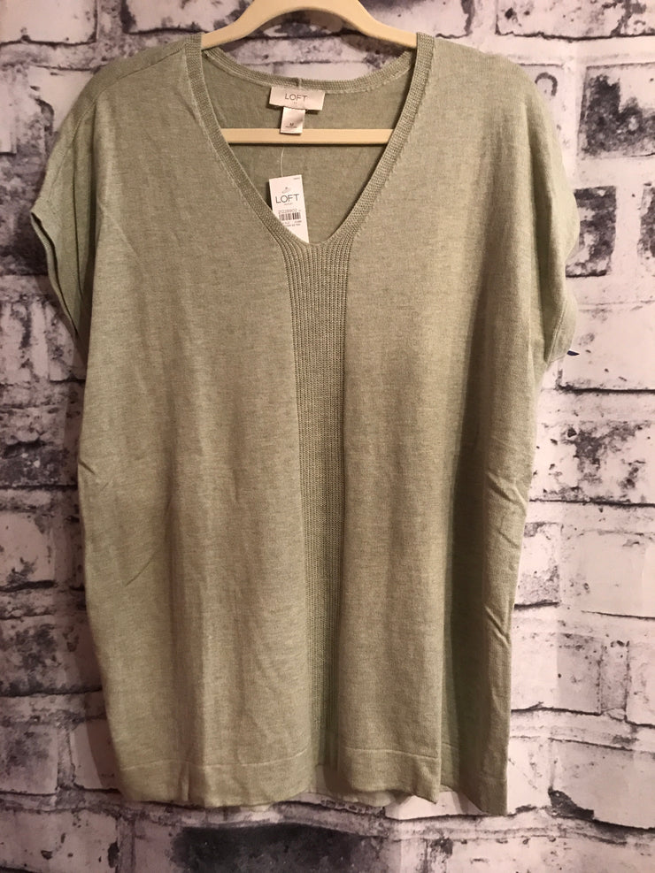 NEW- GREEN WOOL TOP $50