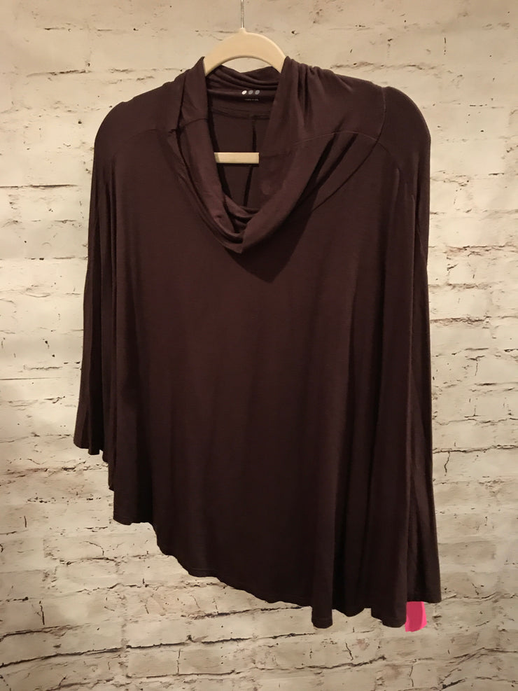 BROWN LONG SLEEVE TOP