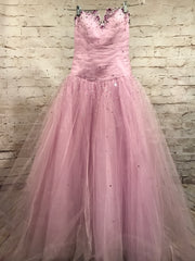 LAVENDER PRINCESS GOWN