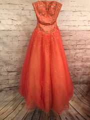 CORAL PRINCESS GOWN