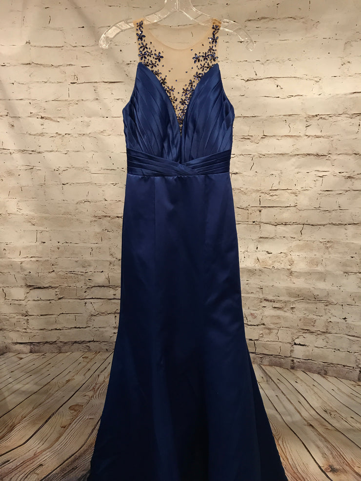 NEW - ROYAL BLUE MERMAID GOWN