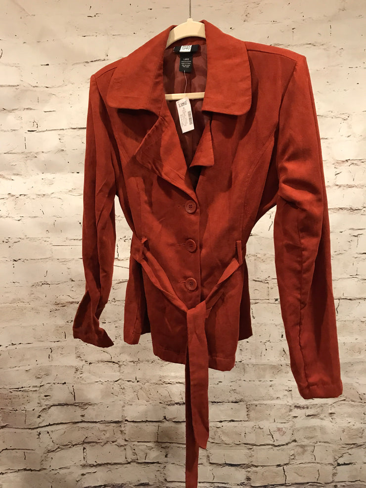 RUST COLORED JACKET (NEW)