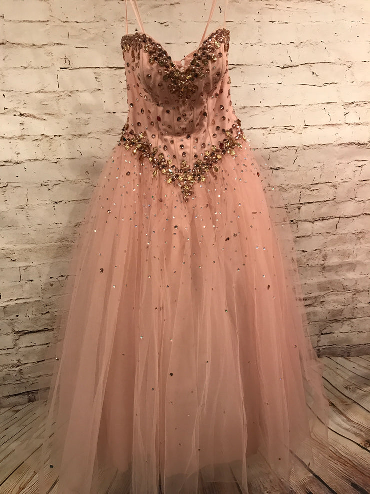 * * LT PINK PRINCESS GOWN