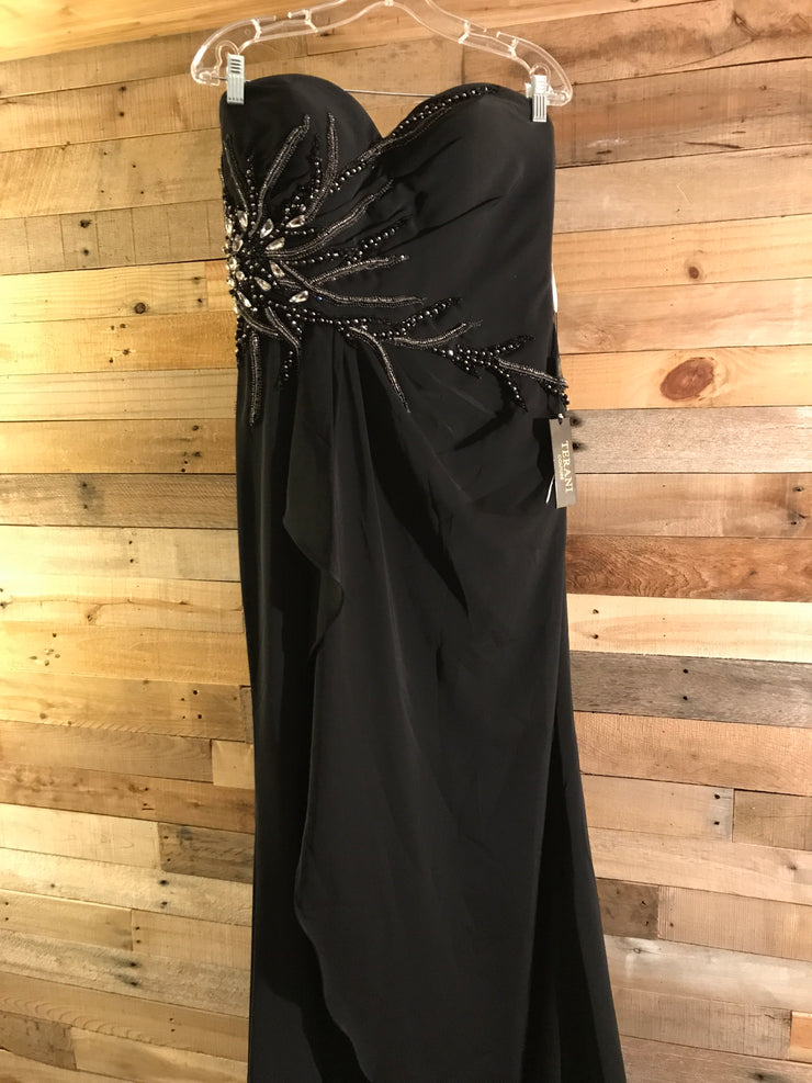 BLACK LONG EVENING GOWN $598 (NEW)