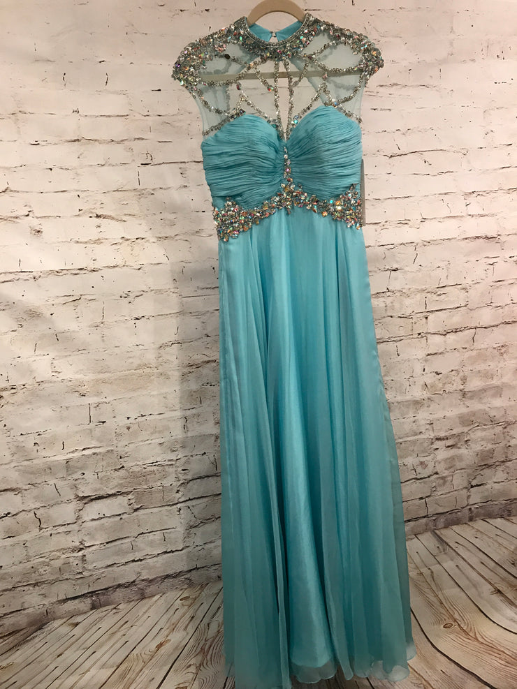 BLUE LONG GOWN (NEW)