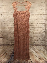 DUSTY ROSE EVENING GOWN