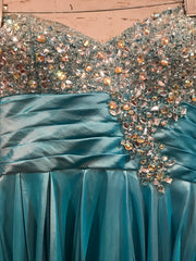 TURQUOISE PRINCESS GOWN