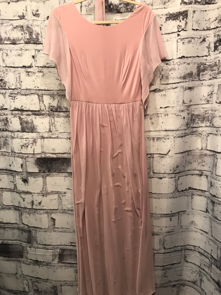 BLUSH LONG EVENING GOWN