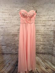 LT. PINK LONG EVENING GOWN