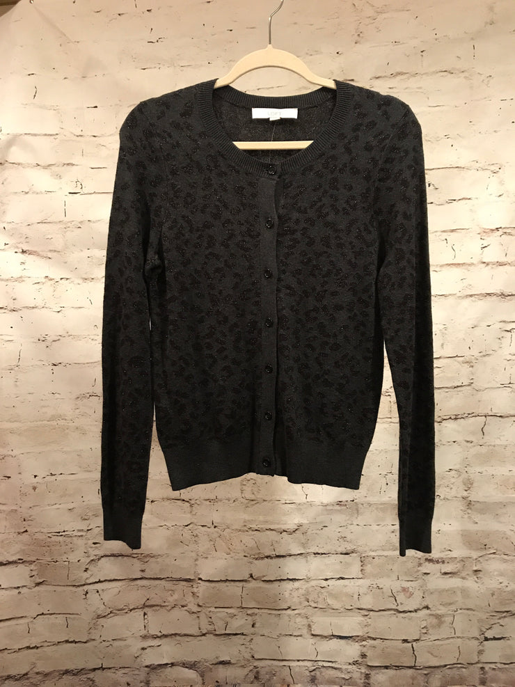 BLACK WOOL CARDIGAN (NEW)