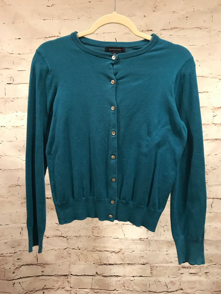 TEAL LONG SLEEVE SWEATER