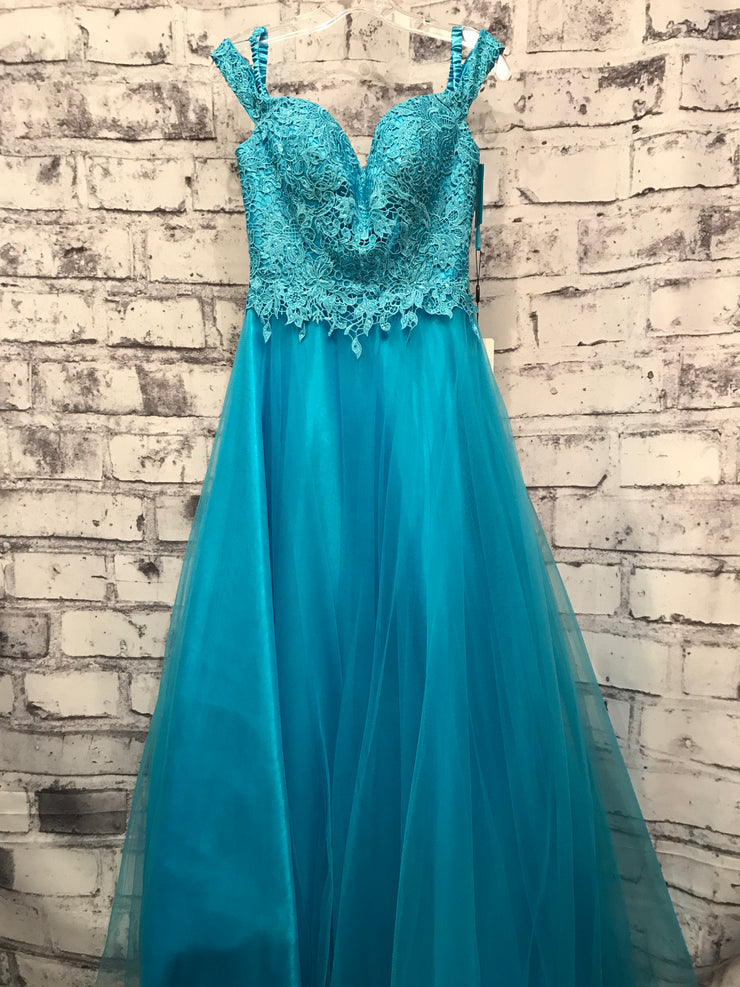 TURQUOISE PRINCESS GOWN (NEW)