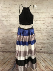 ROYAL BLUE/BLACK 2 PC. PRINCESS