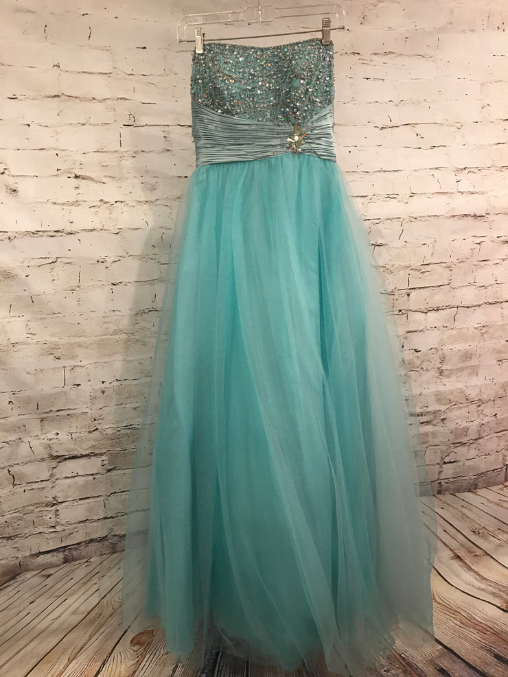 LT. BLUE PRINCESS GOWN