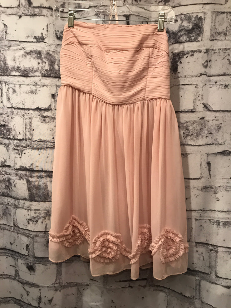 PEACH SHORT DRESS
