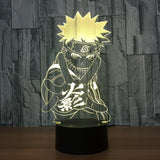 Naruto Lampe optique LED illusion 3D - Ma Deco Maison