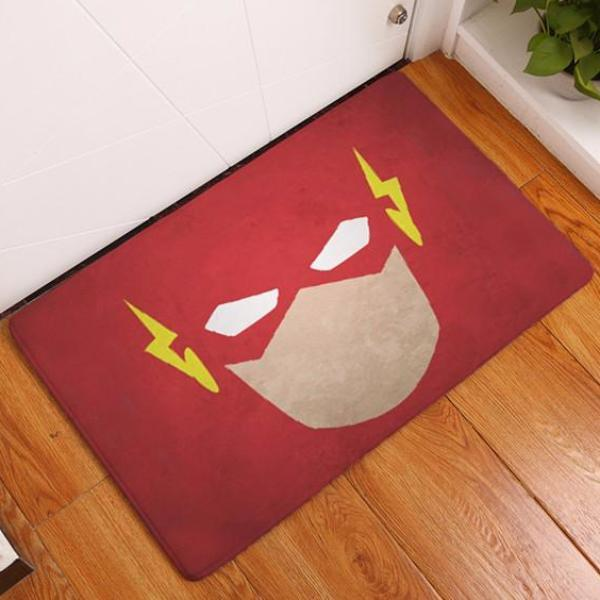 Tapis polaire Flash Gordon ⚡ 60 x 40 cm - Ma Deco Maison