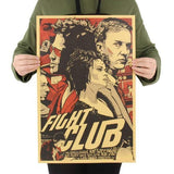 Affiche Fight Club 52 x 36 cm 🎥 - Ma Deco Maison
