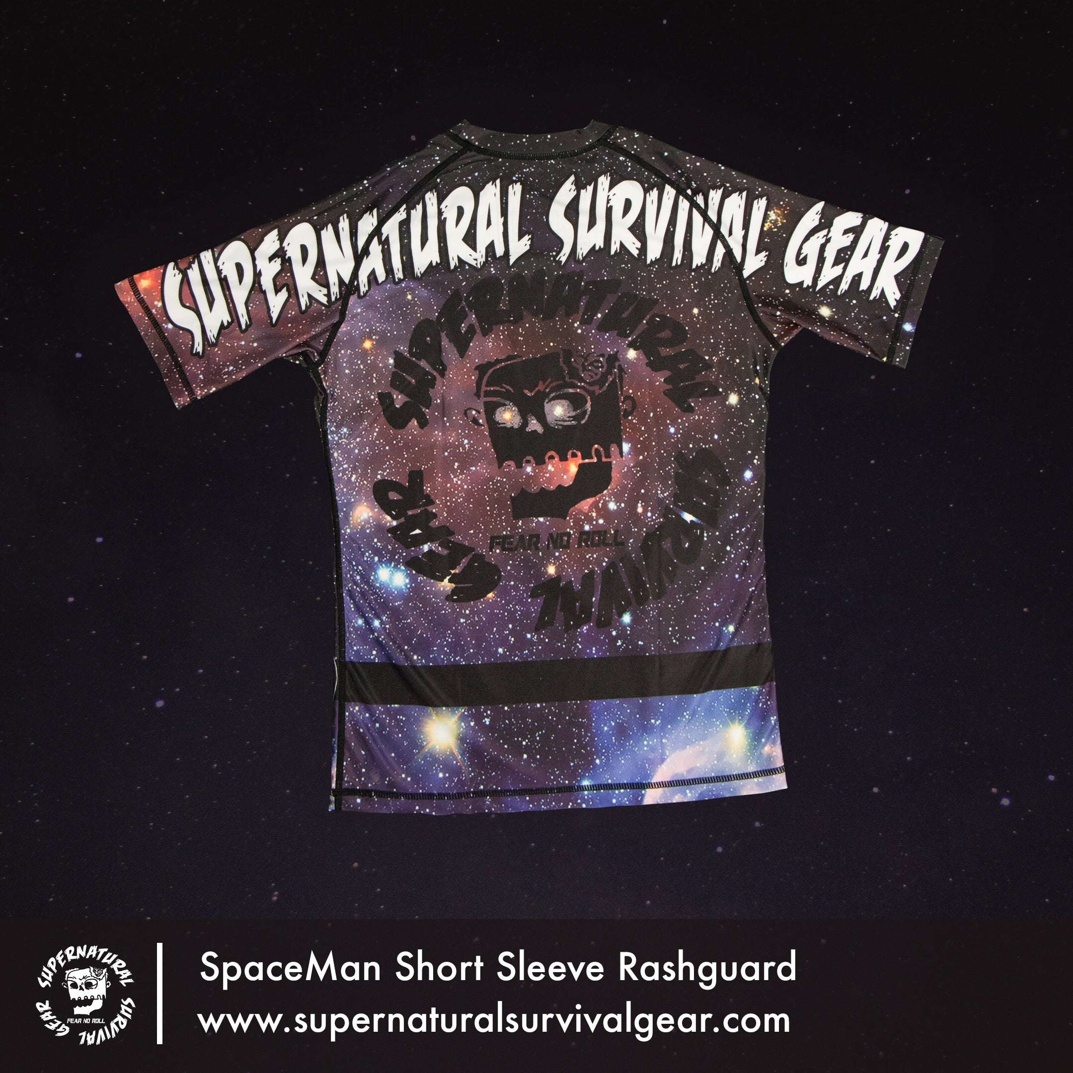 SpaceMan Rash Guard (Short-sleeve)