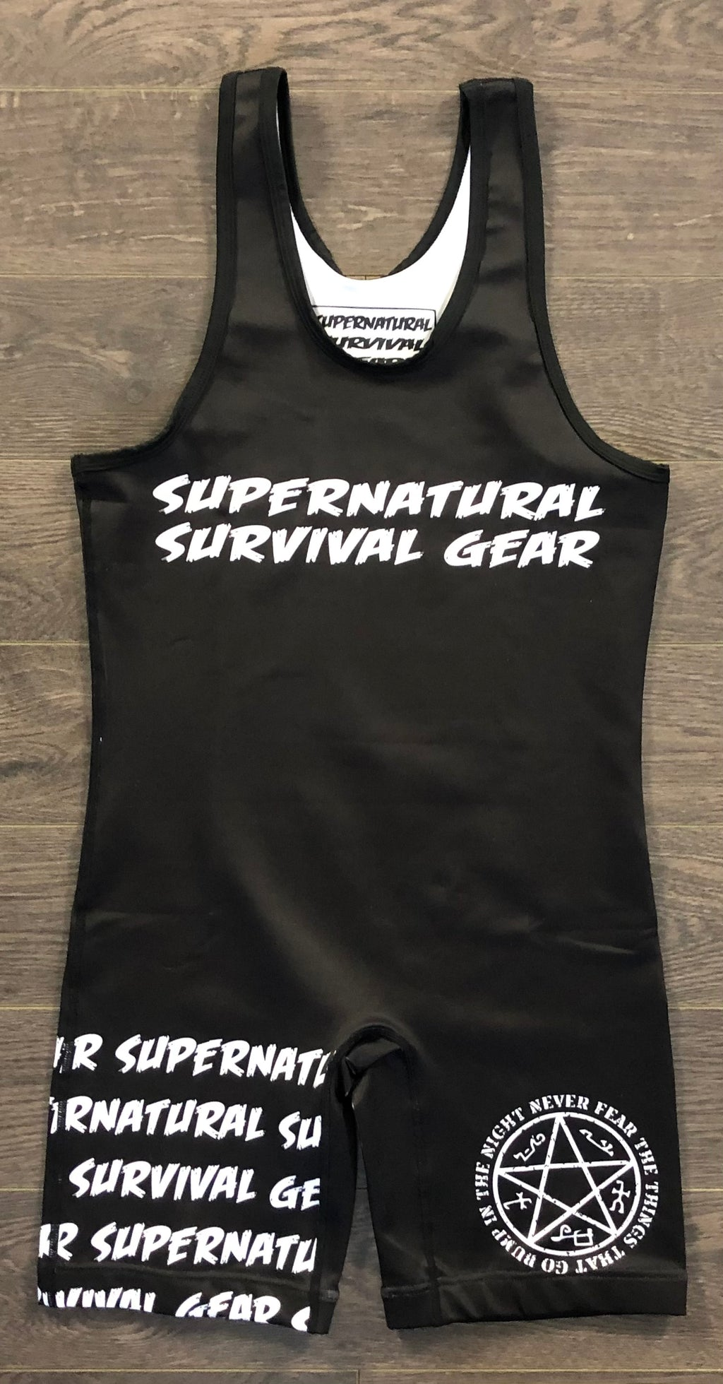 The Darkness Wrestling Singlet