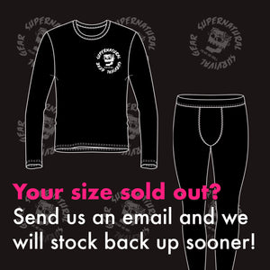 SSG x ZombieProofBJJ Black Sleeve Rash Guard (Short-sleeve)