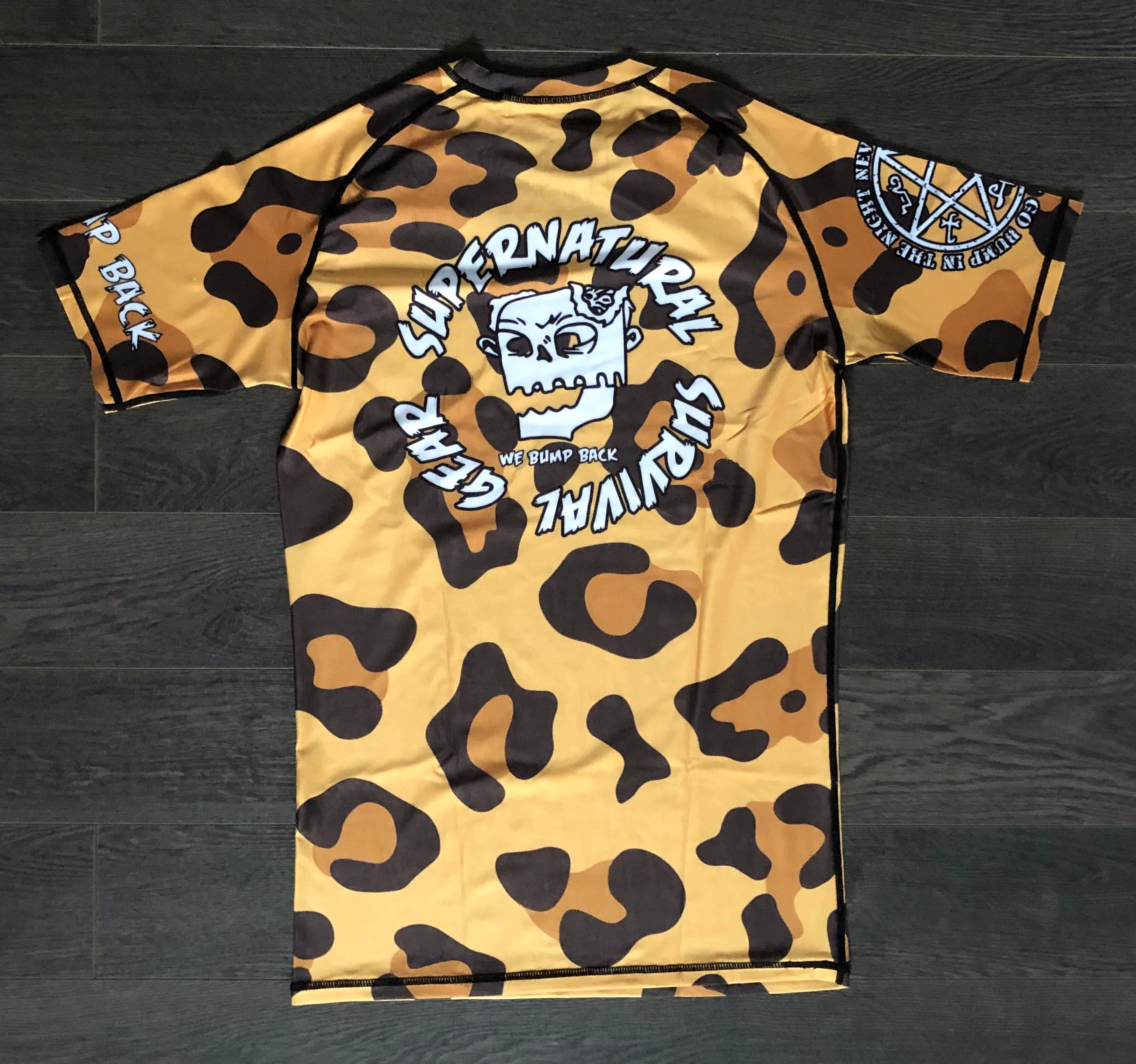 Jungle Royalty V2 Rashguard (Short-sleeve)