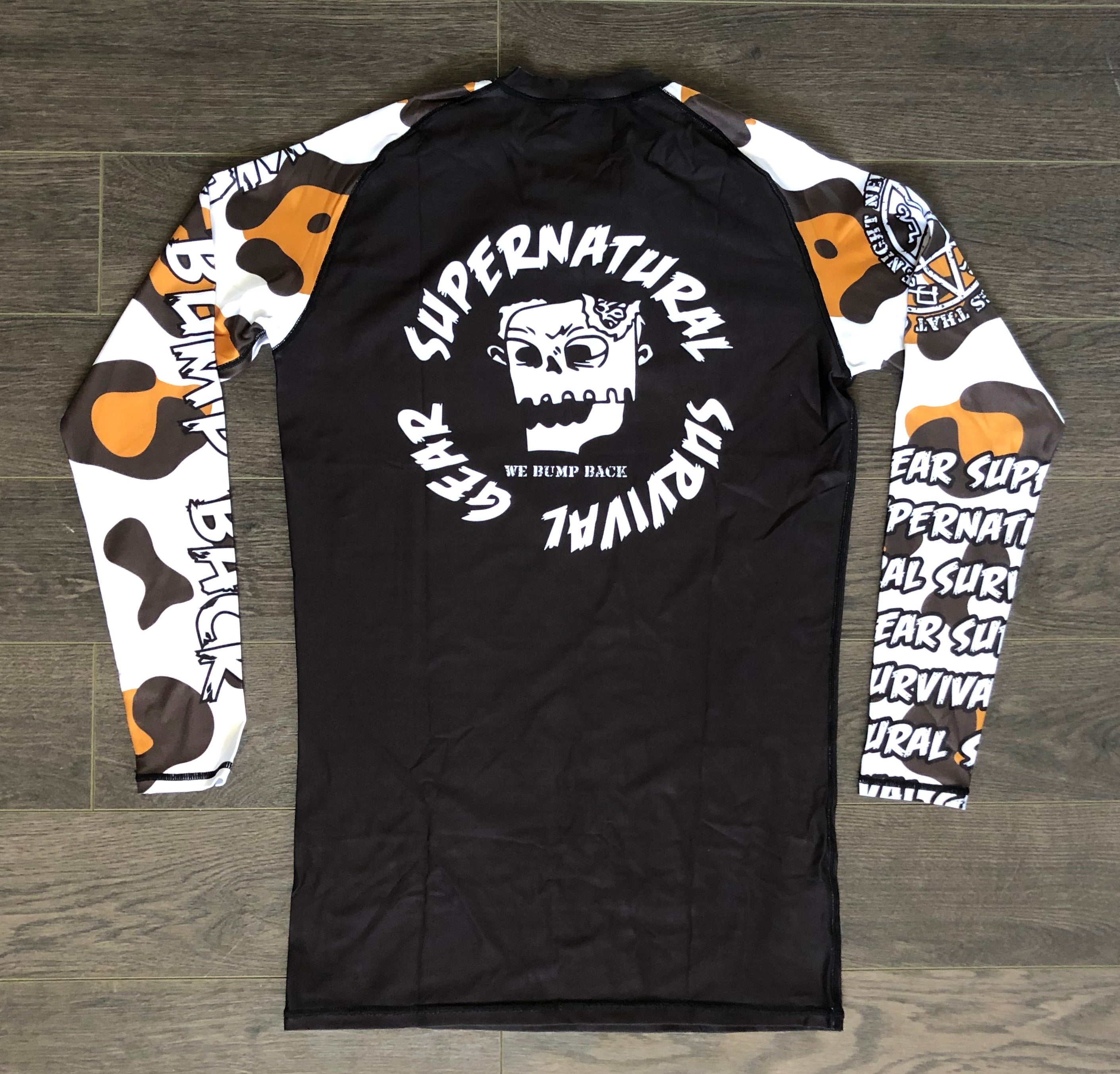Snow Leopard V2 Rashguard (Long-sleeve)