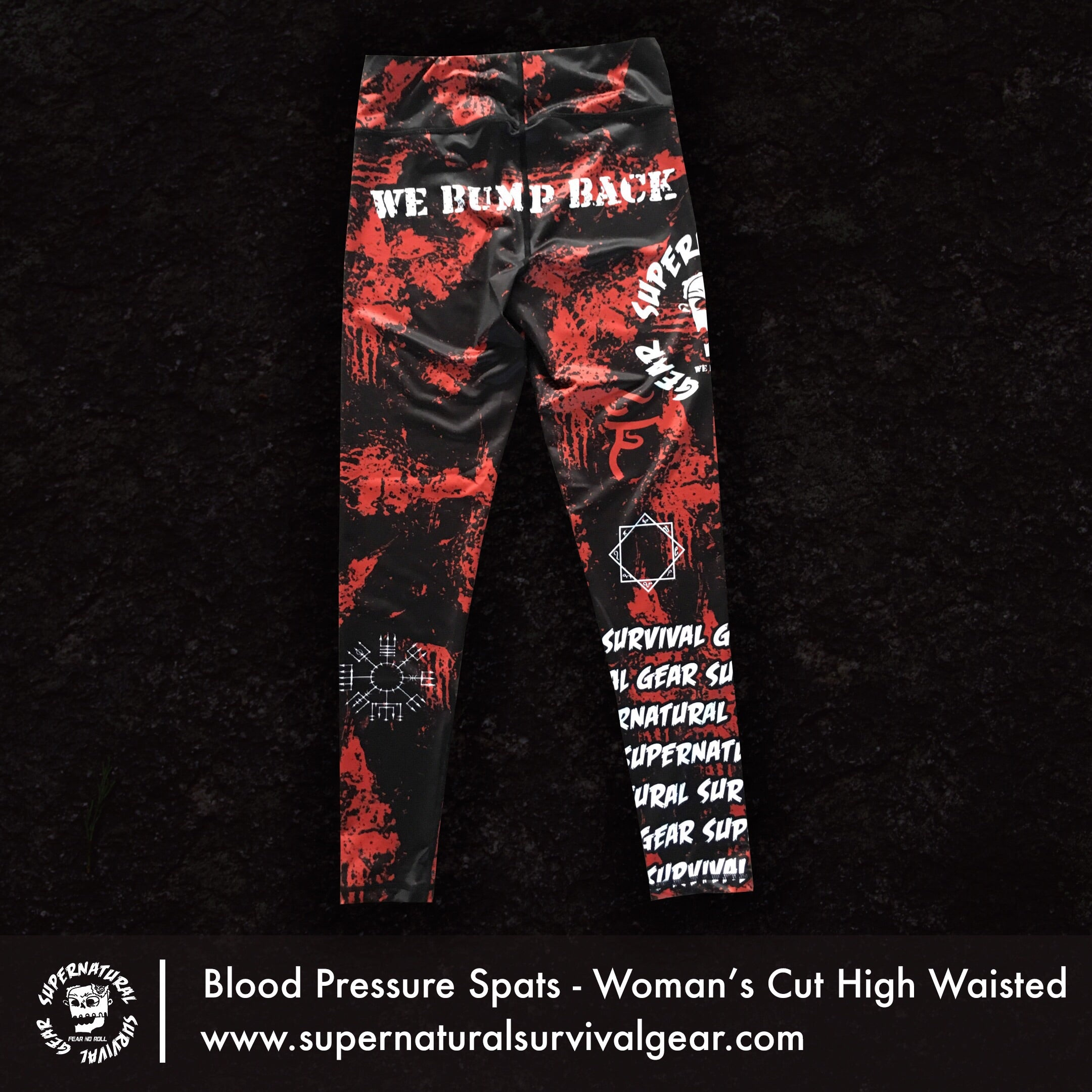 BloodPressure Woman's Cut High Waisted Spats