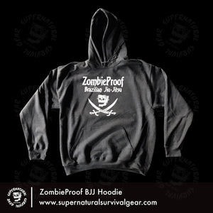 The Jolly Zombie Hoodie (Dark Gray)
