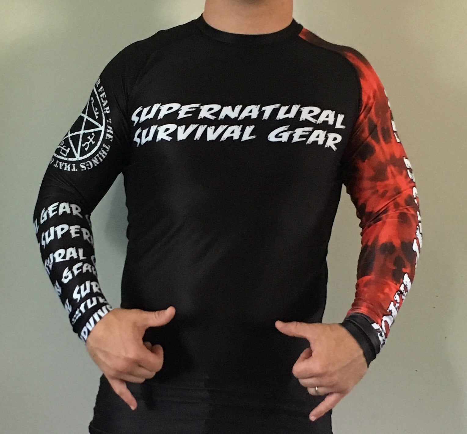 Darkness Black Belt Ranked Rash Guard (Long-sleeve)