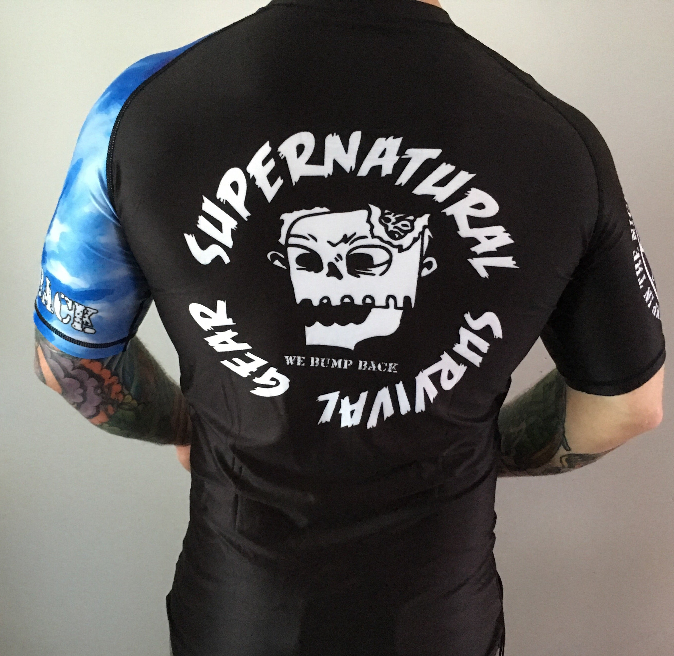 Darkness Blue Ranked Rash Guard (Short-sleeve)
