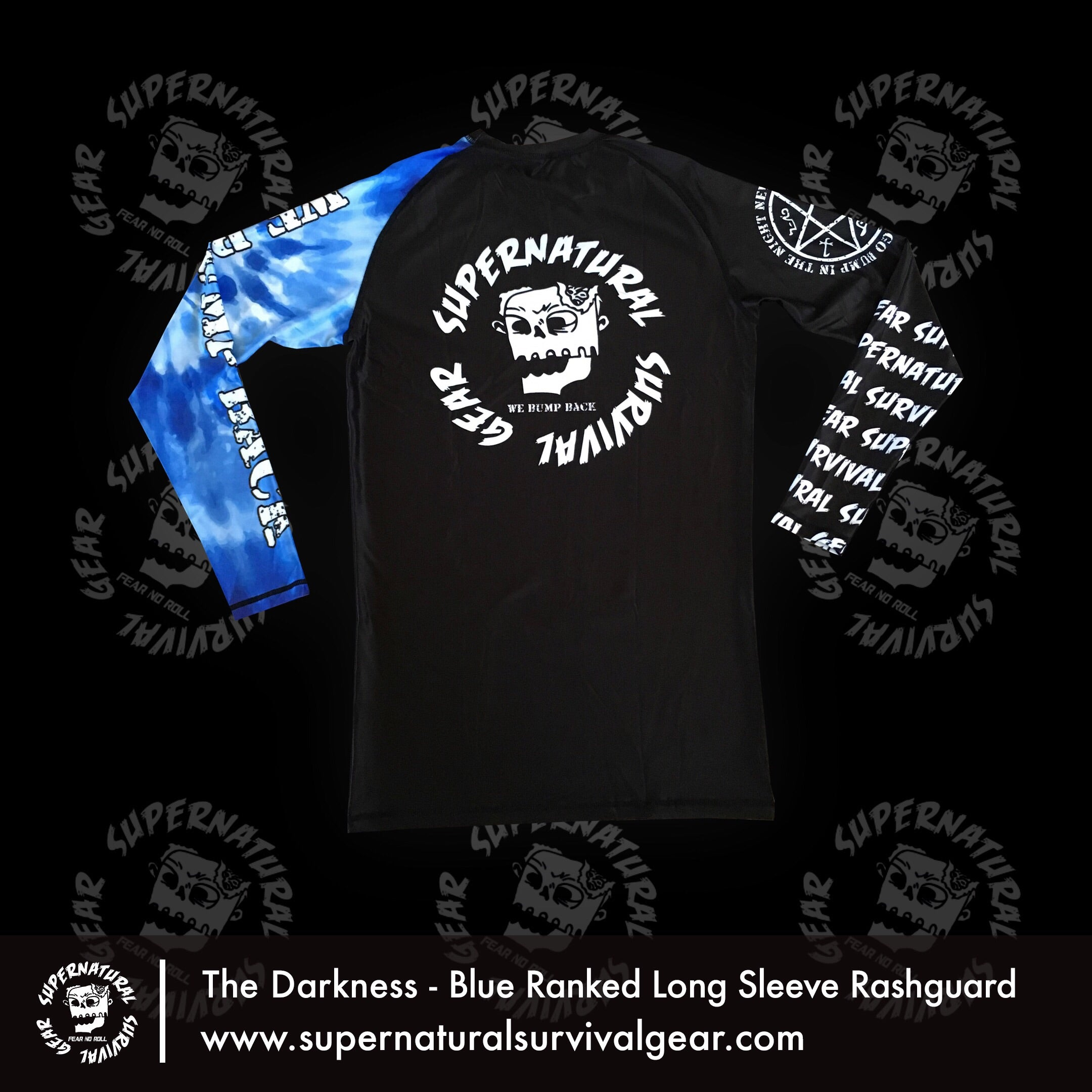 Darkness Blue Ranked Rash Guard (Long-sleeve)