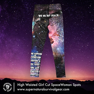SpaceWoman Woman's Cut High Waisted Spats