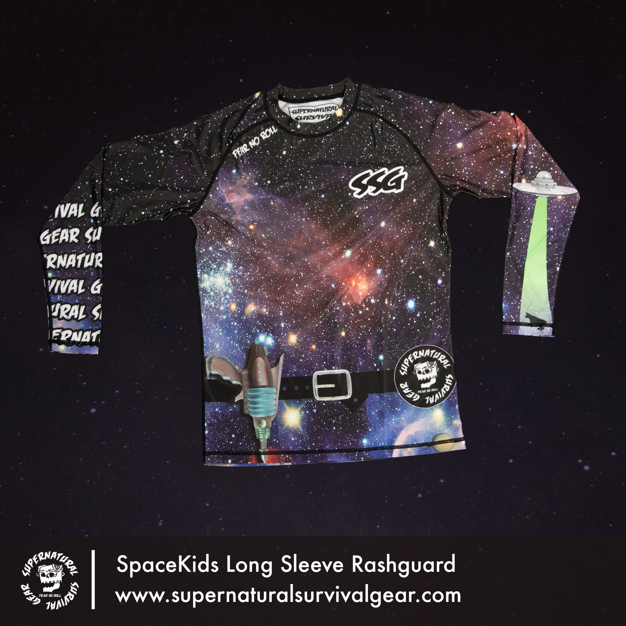 SpaceKids Rash Guard (Long-sleeve)