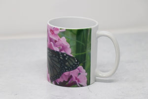 "Coffee Mug -  Butterfly, ""Blessings"""