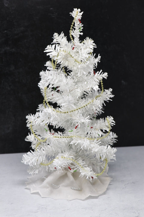 Christmas Tree - White