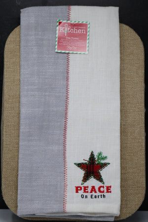 Tea Towel - Farmhouse Peace, Star