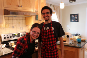 Apron - Red and Black Buffalo Check