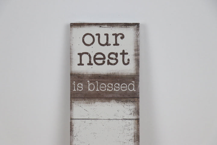 List Notepad - Our Nest is blessed