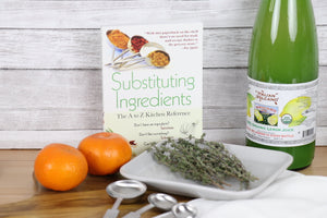 Cookbook - Substituting Ingredients, A to Z Kitchen Reference