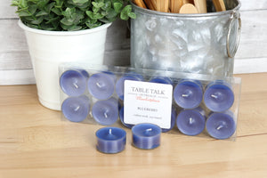 Candle - Tealights, Blueberry fragrance
