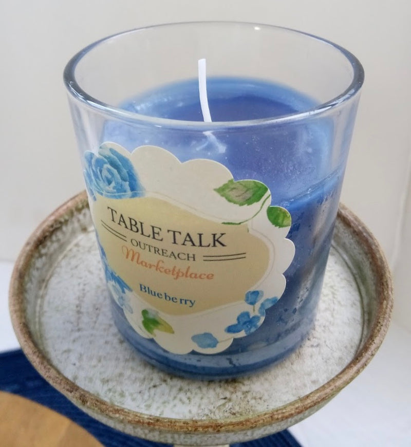 Candle - Blueberry Jar