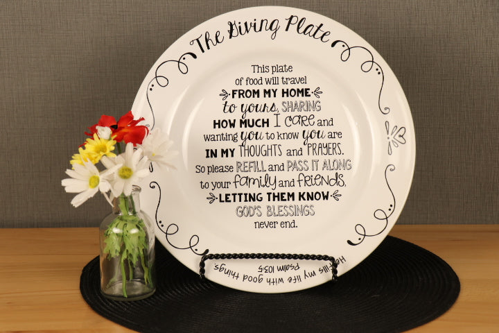 Plate - The Giving Plate