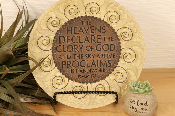 Garden Stone Wall Decor - Sun-Glory of God