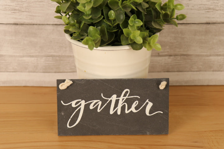 Wall Slate Art - Gather