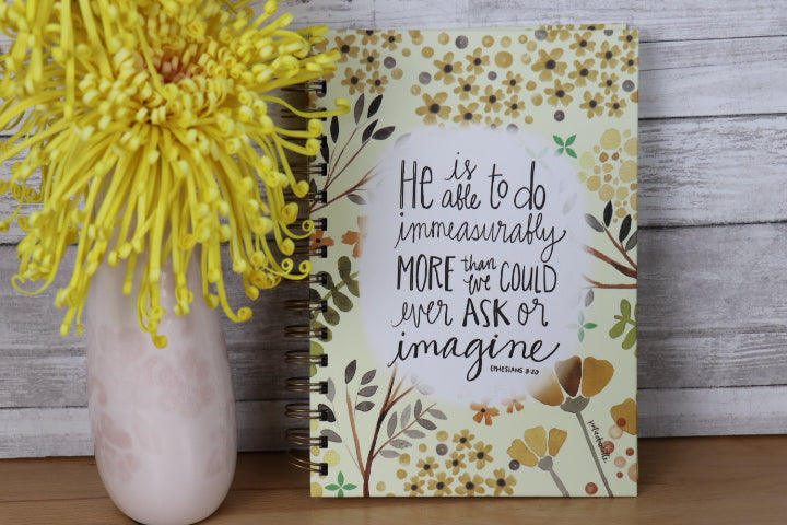 Scripture Journal - He is able to do . . more