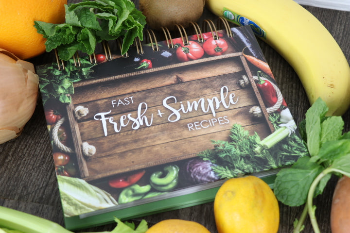 Easel Recipe Book - Fast Fresh & Simple