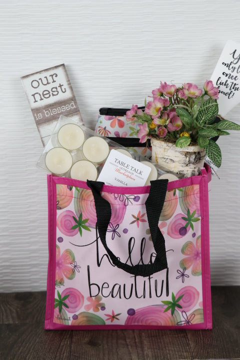 Tote Bag - hello beautiful