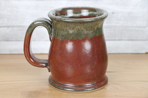 Stoneware Mug - Brick Red