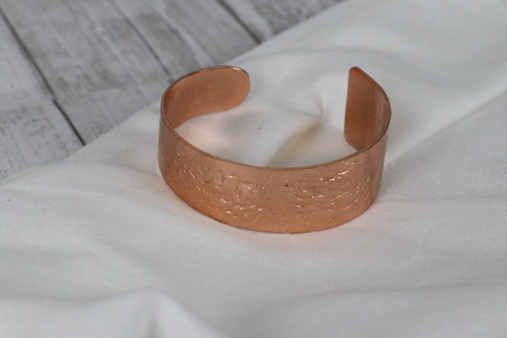 Hammered Cuff Copper